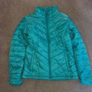 COLUMBIA reflective puffer jacket